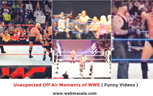 Unexpected Off Air Moments of WWE