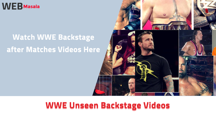 WWE Unseen Backstage Videos ( After matches )